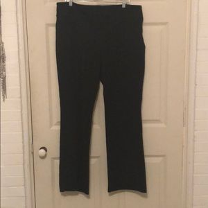 NY & Co knit black pants. Size XXL Average